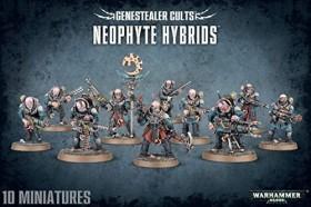 Games Workshop Warhammer 40.000 - Genestealer Cults - Neophyte Hybrids (99120117004)