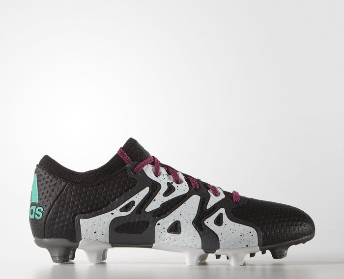68c864c25c9a adidas X15.1 Primeknit FG AG core black shock mint white (men ...