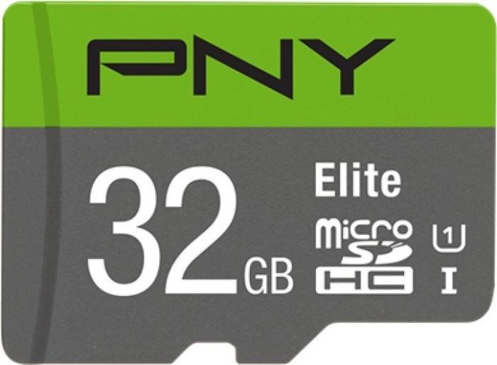 PNY Elite microSDHC 32GB, UHS-I U1, Class 10 (P-SDU32GU185GW-GE)