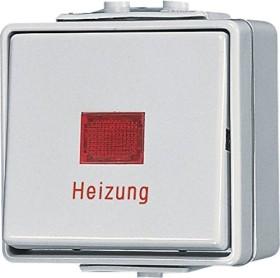 Jung WG 600 Heizungsschalter 10AX 250V (606 HW)