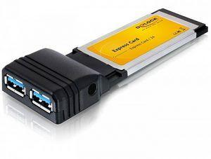 DeLOCK 2x USB 3.0, ExpressCard/34 (61753)