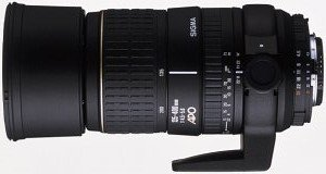 Sigma AF 135-400mm 4.5-5.6 Asp APO RF do Canon EF czarny (723927)