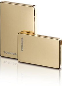 "Toshiba Stor.E Steel gold 160GB, 1.8"", USB-A 2.0 (PA4142E-1HA6)"