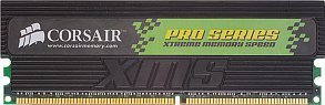 Corsair DIMM XMS Pro Series 512MB, DDR-500, CL3-4-4-8-1T (CMX512-4000PRO)