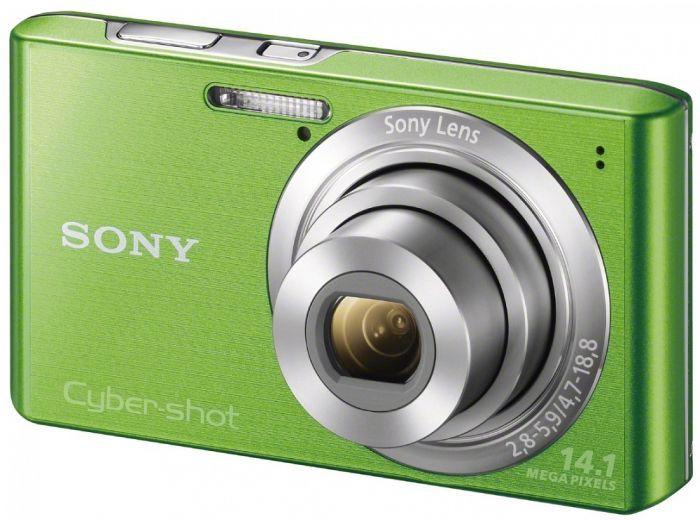 Sony Cyber-shot DSC-W610 green