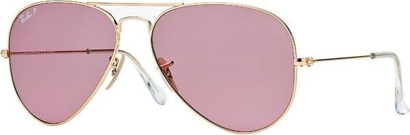 5521a6e19b Ray-Ban RB3025 Aviator Classic 58mm gold polarized pink legend (001 ...