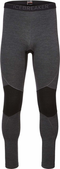 Icebreaker BodyfitZONE 260 zone Leggings pant long jet heather/black (men) (104364-001)