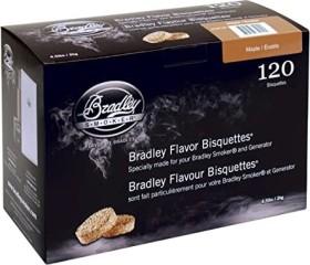 Bradley Smoker maple smoking bisquettes, 120-pack