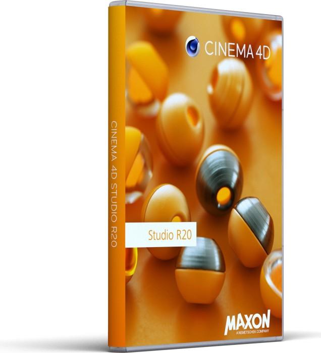 Maxon Cinema 4D R20.0, Studio, update from R18.0 Broadcast, ESD (multilingual) (PC/MAC) (20219)