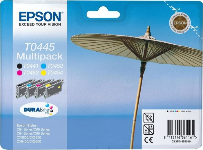 Epson T0445 ink multipack (C13T04454010)