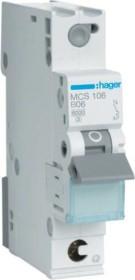 Hager Leitungsschutzschalter (MCS106)