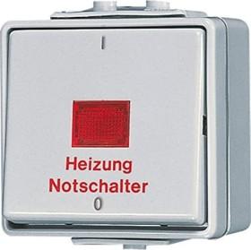 Jung WG 600 Heizungsschalter 10AX 250V (602 HW)
