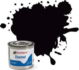 Humbrol Enamel Paint 85 coal black satin (AA0936)