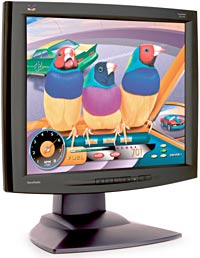 "ViewSonic VG191b, 19"", 1280x1024, schwarz, analog/digital"