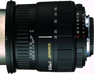 Sigma AF 28-105mm 2.8-4.0 Asp IF for Canon EF black (661927)