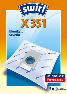 Swirl X351 MicroPor vacuum cleaner bag