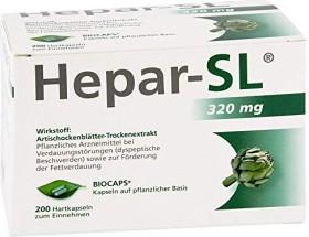 Hepar-SL 320mg Hartkapseln, 200 Stück
