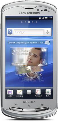 Sony Ericsson Xperia pro silver