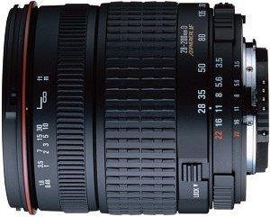 Sigma AF 28-200mm 3.5-5.6 Compact Asp IF Makro für Canon EF schwarz (787927)