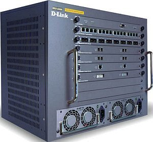 D-Link DES-6300, 7-slot 24Gbps Chassis