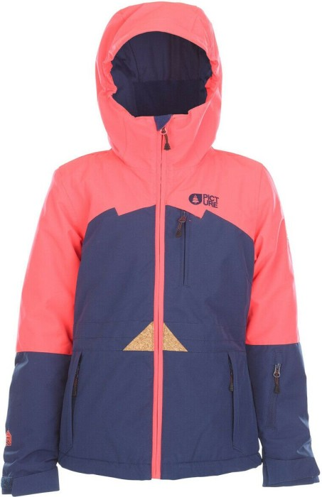 Picture August Snowboardjacke coral (Junior) -- via Amazon Partnerprogramm