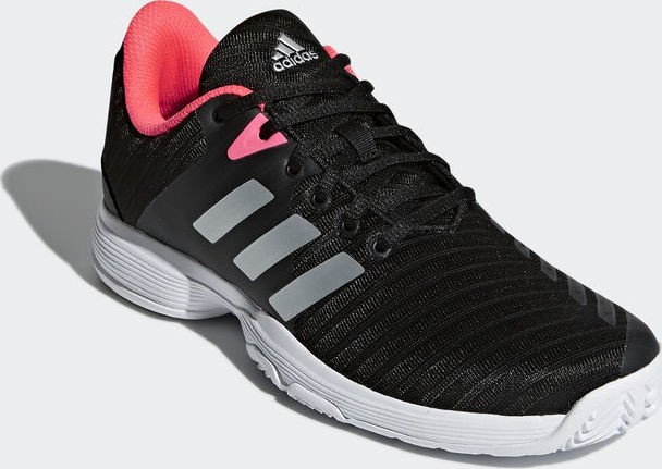 adidas Barricade Court core black matte silver flash red (ladies) (AH2104)  starting from £ 48.57 (2019)  682768dcd
