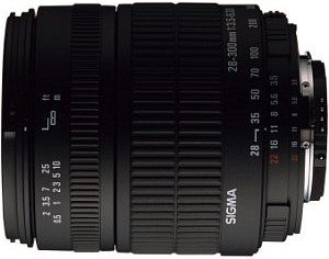 Sigma AF 28-300mm 3.5-6.3 Asp IF macro for Canon EF black (793927)