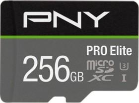 PNY R100/W90 microSDXC Pro Elite 256GB Kit, UHS-I U3 A1, Class 10 (P-SDU256V31100PRO-GE)