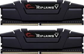 G.Skill RipJaws V schwarz DIMM Kit 32GB, DDR4-3600, CL16-19-19-39 (F4-3600C16D-32GVKC)