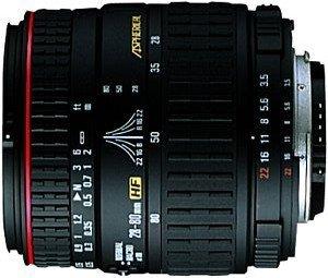 Sigma AF 28-80mm 3.5-5.6 Asp HF macro for Canon EF black