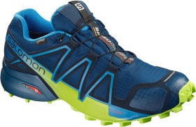 Salomon Speedcross 4 GTX poseidon/navy blazer/lime green (Herren) (404923)