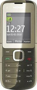 Nokia C2-00 black
