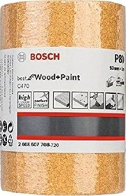 Bosch Professional C470 Best for Wood and Paint Papierschleifrolle 93mm x 5m K80, 1er-Pack (2608607708)