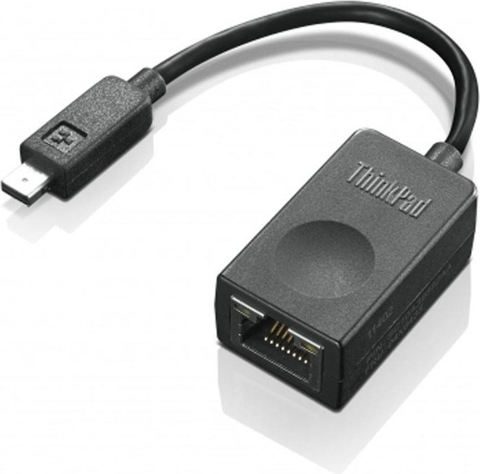 Lenovo 4X90F84315 ThinkPad Ethernet Extension cable, mini I/O on RJ-45 (4X90F84315)
