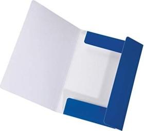 Falken Dreiflügelmappe LongLife A4, blau (15061904000)