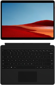 Microsoft Surface Pro X SQ1 Mattschwarz, 8GB RAM, 256GB SSD, LTE + Surface Pro X Signature Keyboard schwarz
