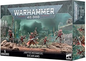 Games Workshop Warhammer 40.000 - Adeptus Mechanicus - Sicarians (99120116018)