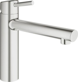 Grohe Concetto medium-high outlet mousseur supersteel (31128DC1)