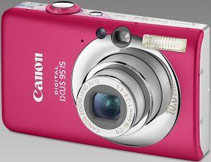 Canon cyfrowy Ixus 95 IS różowy (3456B010)