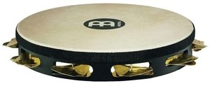 Meinl STAH1B-BK Headed Super-Dry Studio Tambourines