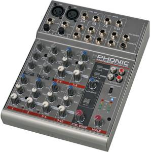 Phonic AM 105FX analog mixer