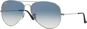 Ray-Ban RB3025 Aviator Gradient 58mm silver/light blue gradient (003/3F)