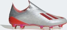adidas X 19+ SG silver met./hi-res red/ftwr white (Herren) (F35674)