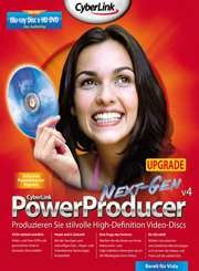 CyberLink: Power Producer 4.0 Update (deutsch) (PC) -- via Amazon Partnerprogramm