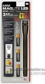 MAG-LITE MAG-LED Mini Maglite 3 AA schwarz Taschenlampe (SP2301H)