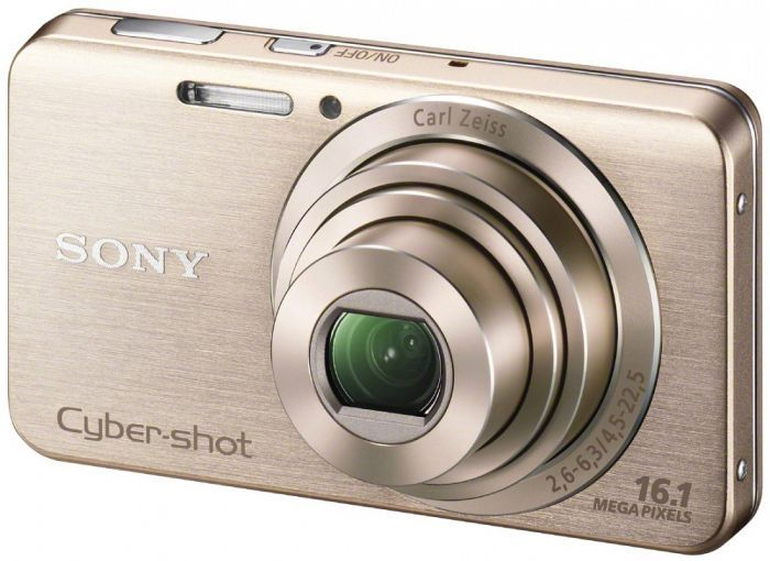 Sony Cyber-shot DSC-W630 gold