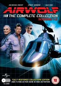 Airwolf Box (Season 1-3) (DVD) (UK)