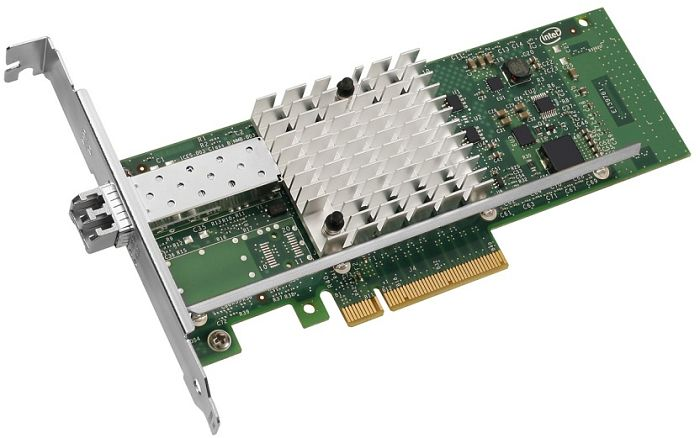 Intel X520-LR1, LC-Duplex, PCIe 2.0 x8, bulk (E10G41BFLRBLK)