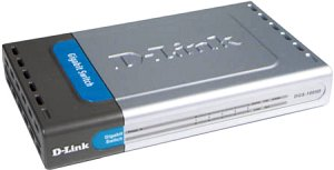 D-Link DGS-1005D, 5-portowy