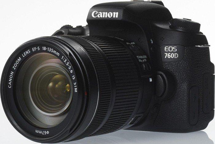 Canon EOS 760D schwarz mit Objektiv EF-S 18-135mm 3.5-5.6 IS STM (0021C023)